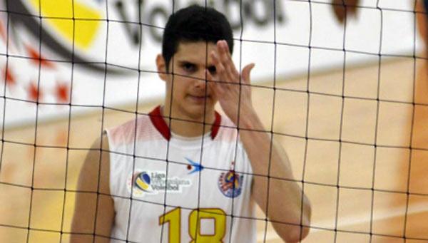 Voleibolista Francisco Soteldo | Foto: Archivo