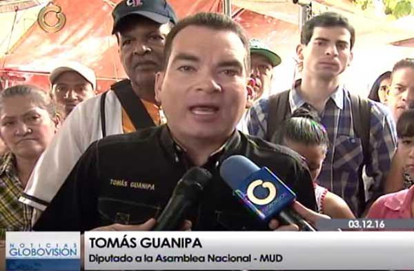 Tomás Guanipa   Foto: Captura de video