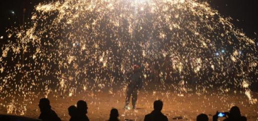 El Año Nuevo llegó a Kiribati, Samoa y Tonga | Fuente: AFP