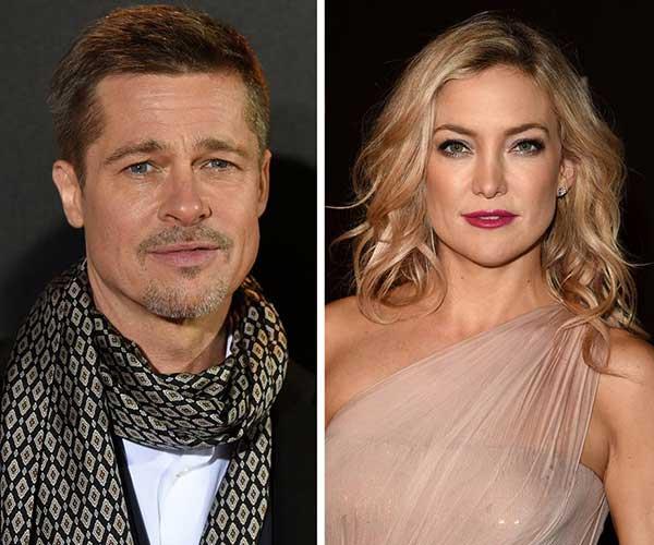 Brad Pitt y Kate Hudson estarían saliendo | Foto: Archivo
