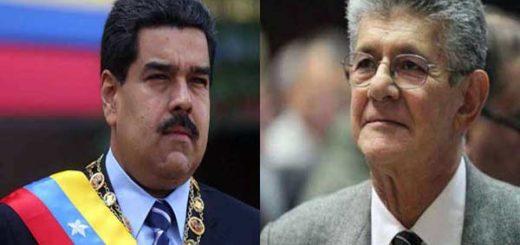 Nicolás Maduro arremete contra Henry Ramos Allup |Foto: Notitotal