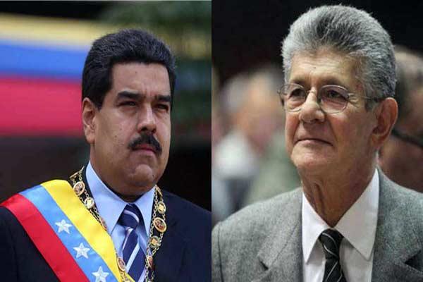 Nicolás Maduro arremete contra Henry Ramos Allup  Foto: Notitotal