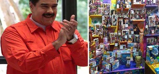 Nicolás Maduro aplaudió el decomiso de juguetes Kreisel  Foto: Notitotal