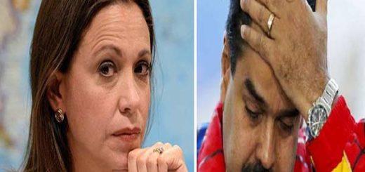María Corina asegura que Nicolás Maduro no tiene capacidad para ser presidente |Foto: Notitotal
