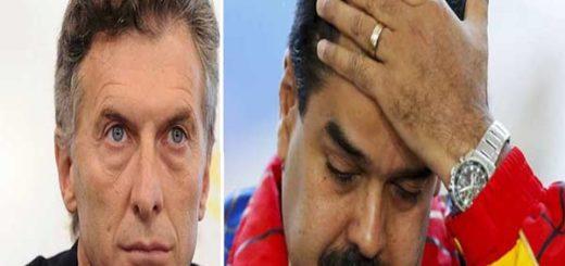 Mauricio Macri arremete contra el Gobierno de Nicolás Maduro |Foto: Notitotal