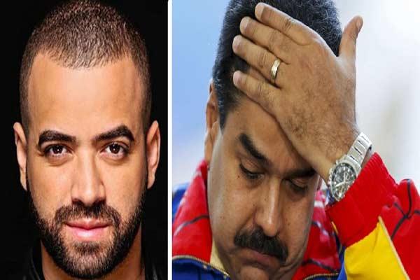 """Así respondió Nacho al """"perdón"""" de Nicolás Maduro  Composición: Notitotal"""