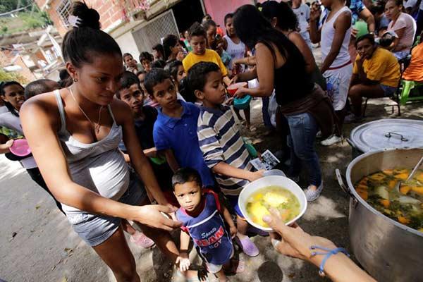 Niños que crecen bajo el Gobierno de Nicolás Maduro |Foto: Reuters
