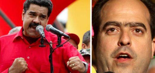 Nicolás Maduro y Julio Borges | Imagen referencial