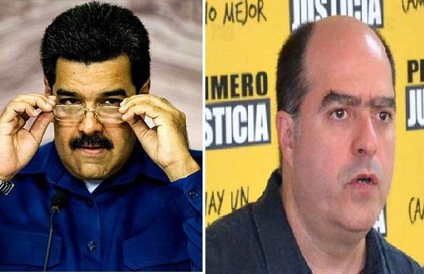 Nicolás Maduro a Julio Borges, dirigente de Primero Justicia |Foto: Notitotal