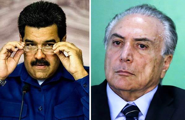 Nicolás Maduro / Michel Temer | Composición Notitotal