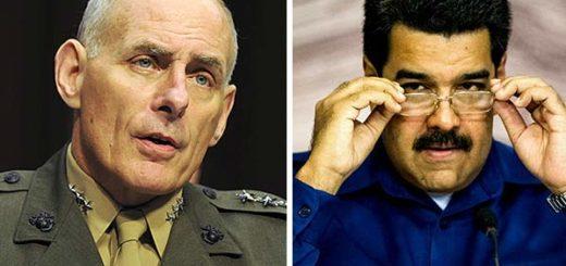 General John Kelly / Nicolás Maduro | Composición Notitotal