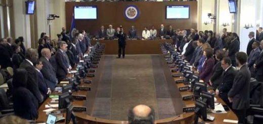 OEA homenajeó al embajador Bernardo Álvarez | Foto: Captura de video