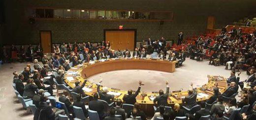Consejo de Seguridad de la ONU | Foto: @RRamirezVE