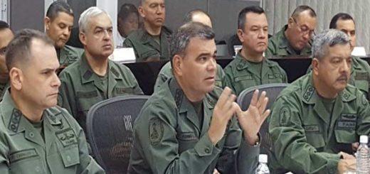 Padrino López sostiene reunión con el cuerpo de la Redi |Foto: Ceofan