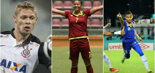 Marlone, Daniuska Rodríguez y Mohd Faiz Subri | Foto: elmundodeportivo24