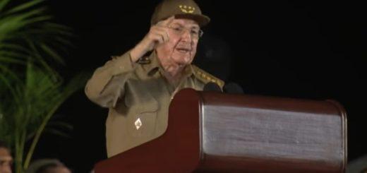 Raúl Castro|Captura de video