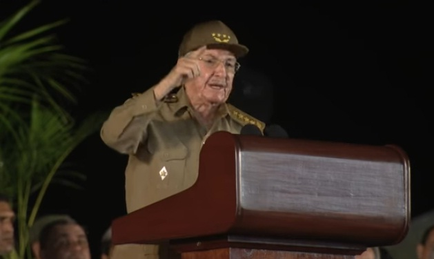 Raúl Castro|Captura de video
