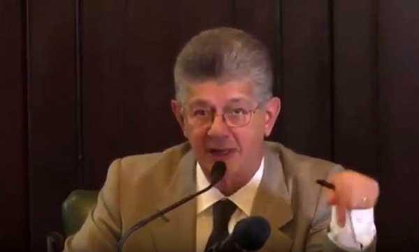 Henry Ramos Allup | Foto: Captura de video