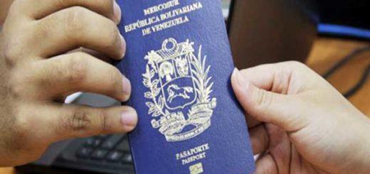 Pasaporte venezolano del Mercosur | Foto: Archivo