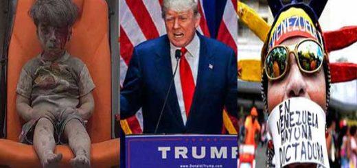 ISIS, Donald Trump y Venezuela entre las noticias que consagran al 2016 como el peor año de la década | Fotomontaje