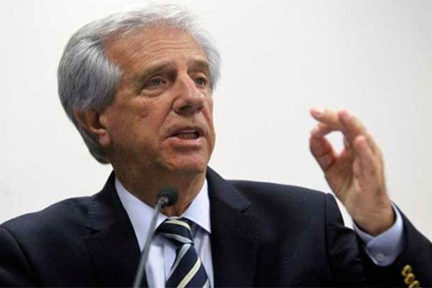 Tabaré Vásquez, presidente de Uruguay  Foto cortesía