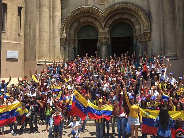 Venezolanos en Chile | Foto cortesía