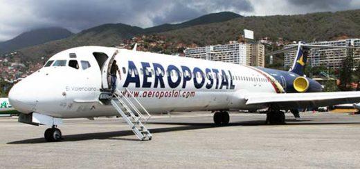 Aerolínea Aeropostal | Foto referencial