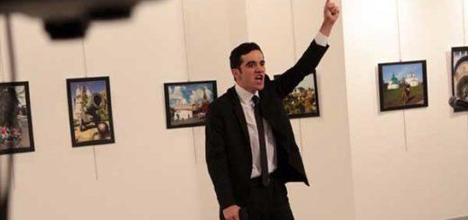 Mert Altintas, el atacante del embajador de Rusia en Turquía | Foto: vía @DailySabah