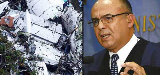 Ministro boliviano asegura que accidente aéreo no fue un accidente