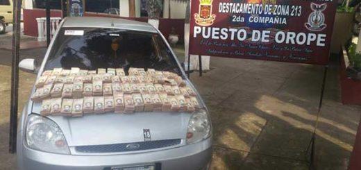 Redi Andes ha decomisado 88 millones de bolívares en billetes de 100 en Táchira | Foto: Panorama