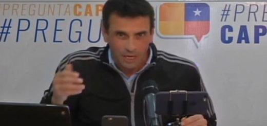 Henrique Capriles|Captura de video