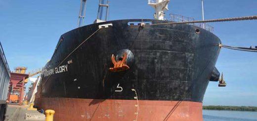 30 mil toneladas de trigo y maíz arribaron a Puerto Cabello | Foto: Prensa Bolipuertos