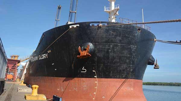 Arribo a Puerto Cabello   Foto: Prensa Bolipuertos