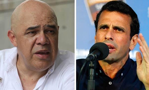 Chúo Torrealba / Henrique Capriles | Fotomontaje Notitotal