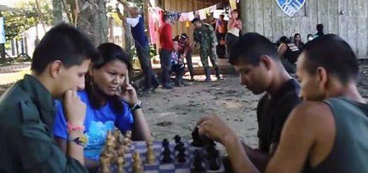 El 'Mannequinn Challenge de las FARC | Foto: Captura de video