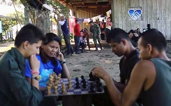 El 'Mannequinn Challenge de las FARC   Foto: Captura de video