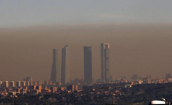 Contaminación en Madrid | Foto referencial