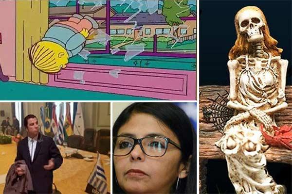 Tuiteros se burlan de Delcy Rodríguez a través de memes |Foto: Notitotal