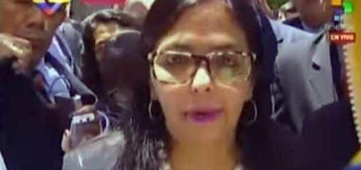 Delcy Rodríguez | Foto: Captura de video