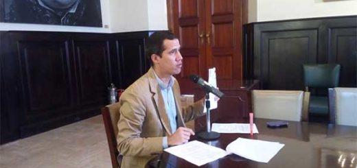 Diputado Juan Guaidó | Foto: @AsambleaVE
