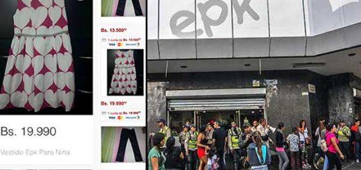 Comienzan ventas de ropa EPK en Mercadolibre | Fotomontaje: Notitotal