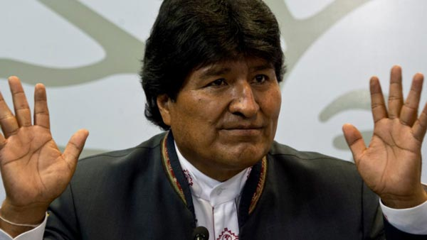 Evo Morales |Foto: AFP