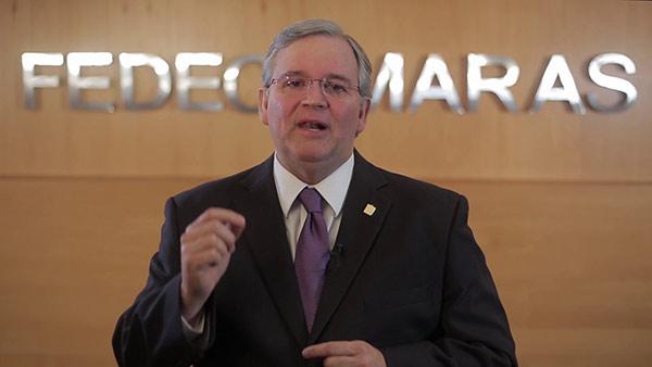 Francisco Martínez, presidente de Fedecámaras | Foto: Youtube