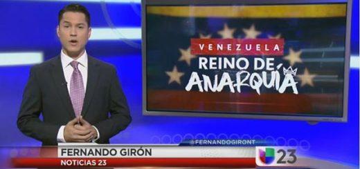Periodista Fernando Girón | Foto: Captura de video