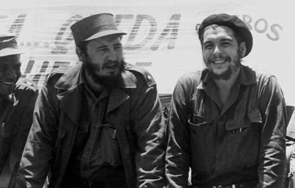 Fidel Castro y Ché Guevara   Foto: Archivo