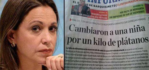 María Corina Machado |Composición Notitotal