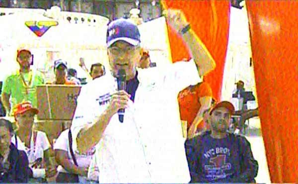Motta Domínguez informa que pagarán retroactivos a trabajadores de Corpoelec | Foto: Captura de video