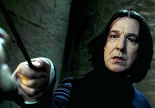 Alan Rickman, conocido por interpretar al Professor Snape | Foto: Archivo