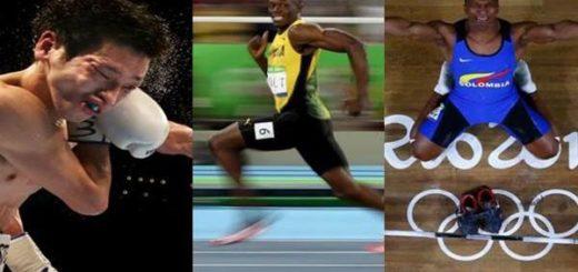 La foto de Usain Bolt y otras imágenes impactantes que marcaron el deporte en 2016