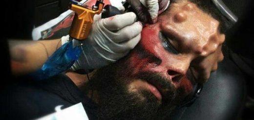 Henry Rodríguez se transforma en Red Skull | Foto: The Sun
